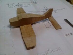 fabrication avion bois Robin DR-400