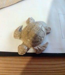 tortue bois sculpté rapide
