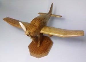 verni avion bois Robin DR-400