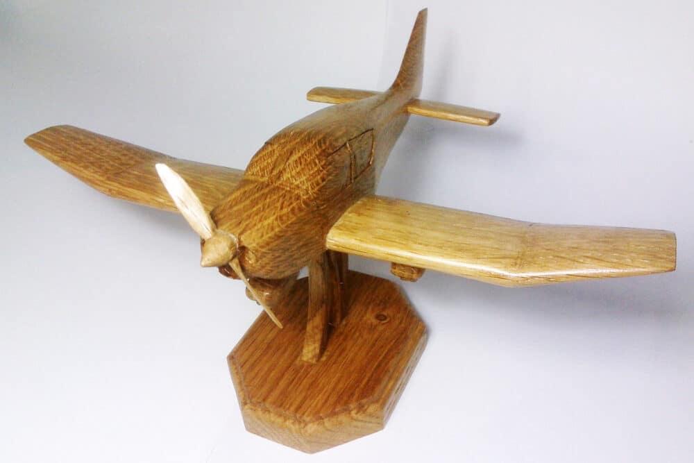 avion en bois de chêne Robin DR-400
