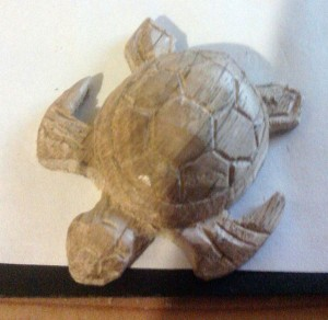 tortue bois sculpter simple