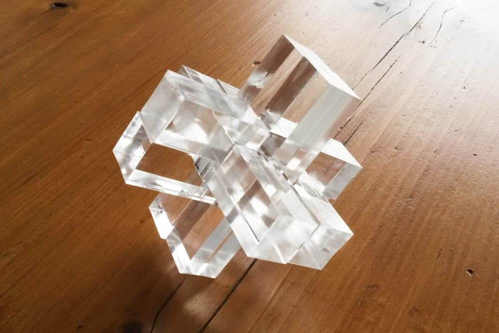 case tête laser cut plexi