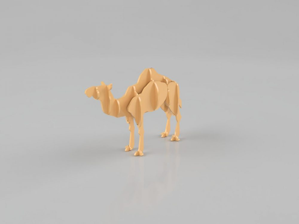 chameau - fichier pour d u00e9coupe laser