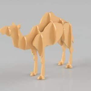 chameau découpe laser puzzle