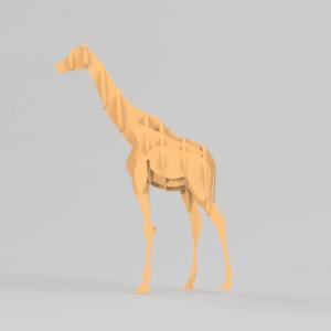 Girafe découpe laser