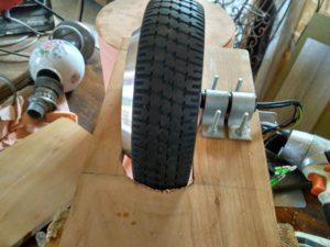 moteur hoverboard sur velo